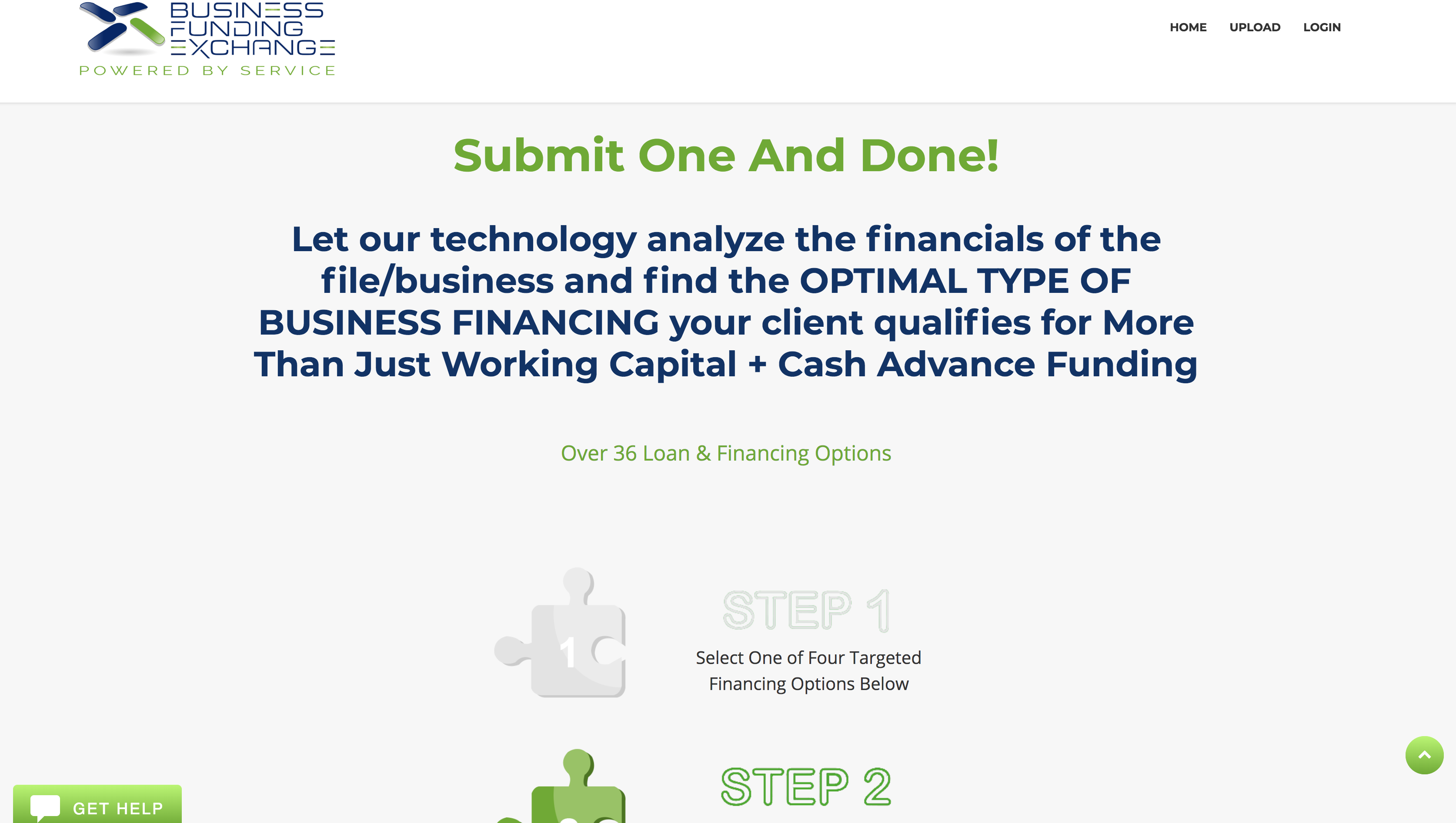 Business Funding Exchange Portal