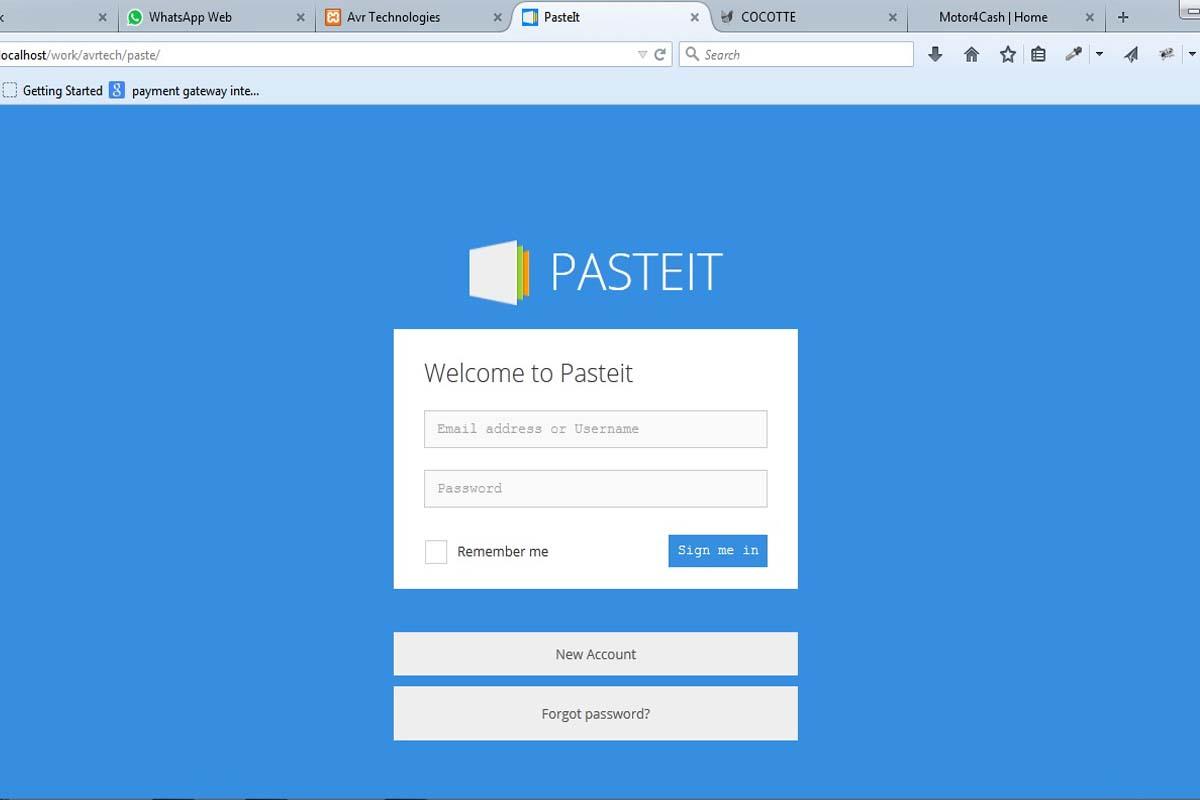 Paste It